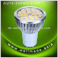 gu10 led bulb 4w 5050smd 12 volt led lights