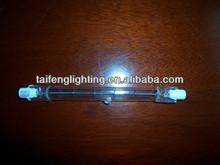 J- tipo de tubo do halogênio/125mm j- tipo de iodo lâmpada de tungstênio