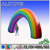baeautiful rainbow inflatable welcome entrance arch for sale