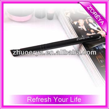 Single Angular eyebrow brush cosmetic brush