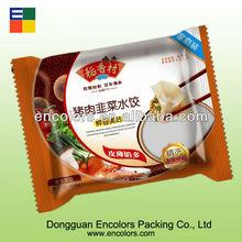 Food grade ECO-friendly plastic frozen bags for dumpling/frozen bag