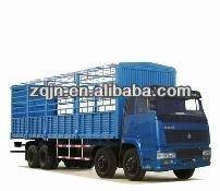 HOWO 4x2 van cargo truck