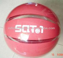9 panel inflatable PVC basketball