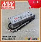 MEANWELL 150W 36V LED Driver UL/cUL PFC IP65 CLG-150-36A
