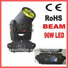 NEW 90W USA led 3 prism beam moving head lights (WLEDM-06)