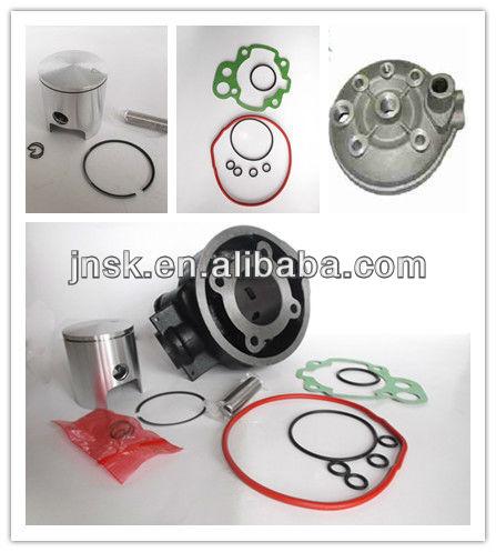 minarelli am6 cilindro 50cc alumínio e ferro 70cc cilindro de ferro com cabeça