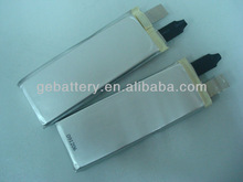 GEB High c-rate competitive price 8037125 3.7v 2250mAh 5c lipo rechargeable battery for pack