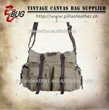 Vintage canvas across body bags/Vintage canvas messenger bag
