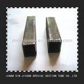 40x120mm preto ferro tubo retangular