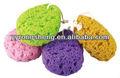 2014 venta caliente esponja de baño