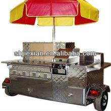 2014 Shanghai Jiexian hot food Cooking van cart JX-HS180C China