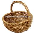 Barato Natural pequeno vime cestas de páscoa atacado
