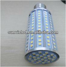 220V led corn light e27 25W SMD5050 with Aluminum housing &CE ROHS