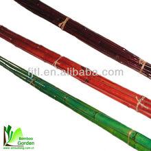 Colorido de bambú / decorativa de bambú / polarizado de bambú tallos