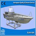 sanj sja18a de aluminio pequeño barco de pesca para la venta