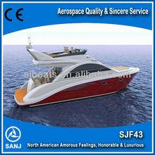 SANJ SJF45 Fiberglass Luxury Speed Boat