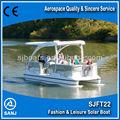 Sanj sjft22 catamarã de energia solar de barco-- eficiente& ambientalmente amigável