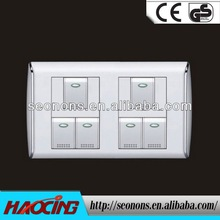 Life long wall switch mechanisms