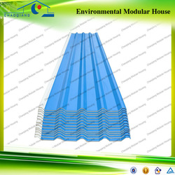 China lowcost color coated PVC Roof Tile for sale