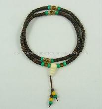 Coconut wood prayer bead