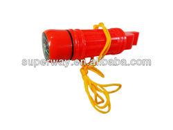 Belt bag red survival emergency kit