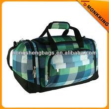 600D ripstop printing duffle bag travel bag