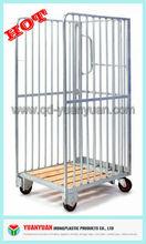 3-sides logistics platform hand roll cage