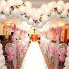 Glowing wedding led light balloon
