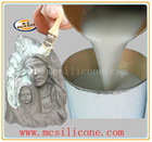 Liquid silicone for mold making