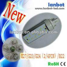 5630 g24 2/4pin 6w green led down lighting