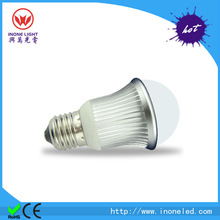 light bulbs led 3 years warranty ce/rohs proved big round 3W 12v solar bulb good quality