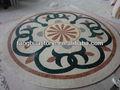 fiore foyer medaglione rotondo pavimento a mosaico modelli
