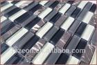 Background wall Mosaics glass tile, bamboo mosaic backsplash