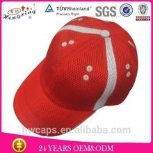 2013 fashion custom sandwich mesh baseball cap