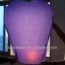 Handmade luminary heart paper lanterns factory wholesale