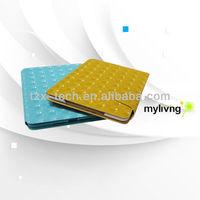 newest 3D gorgeous PU leather case for ipad mini for ipad mini smart cover