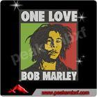 Latest One Love BOB MARLEY Rhinestone Transfer Design For DIY t Shirt