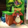 Jungle theme park design, small size deocration ,cartoon animals decorations