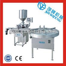 HTG-03A simple liquid lotion gel filling machine