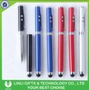 Metal led laser 4 in 1 ball pen torch with stylus pen for touch screen