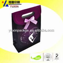 recycled paper shopping bag/wholesale/cardboard bag/birthday gif packaging bag