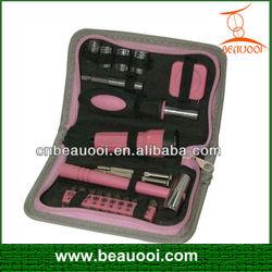 21pcs ladies tool kit pink tool set