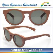 Unisex Eco-friendly 100% Fashion Wooden Sunglasses (SGW3318)