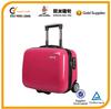 pink 16 inch lightweight hard abs laptop bag