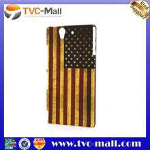 Retro United States American Flag Case for Sony Xperia Z