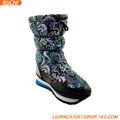 waether frío deinvierno botas textil superior forro deimitación de eva y suela de caucho
