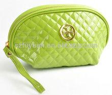 pu material wristlet cosmetic bag