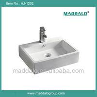 Standard American Rectangular Top Counter CUPC Wash Basin