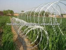 types of peripheral razor wire prison fences