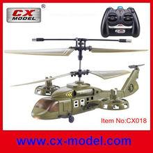 4ch infravermelho plástico apache helicóptero